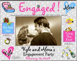 engagement frame dle - Engagement Photo Frame